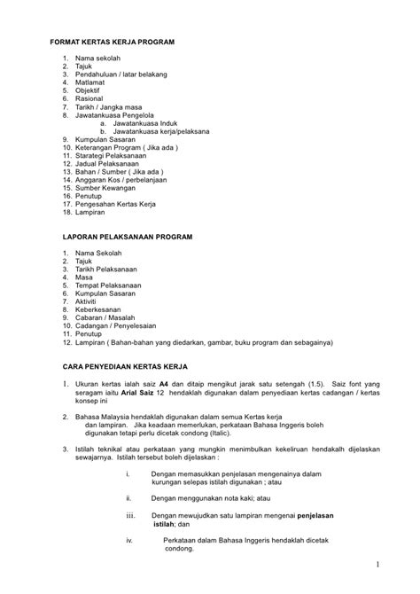 format apa kertas kerja 20403474 format kertas kerja