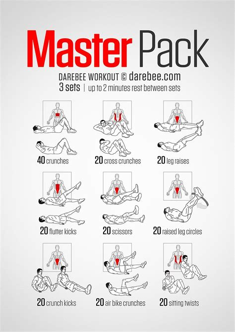 masterpack workout workout workout exercises and fitness