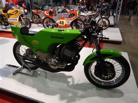 Kawasaki Motorrad Oldtimer by Motorr 228 Der Oldtimer Kawasaki Fahrzeugbilder De