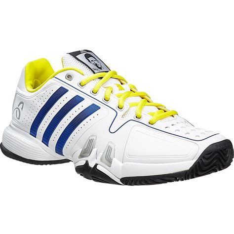 adidas novak pro s tennis shoe white yellow