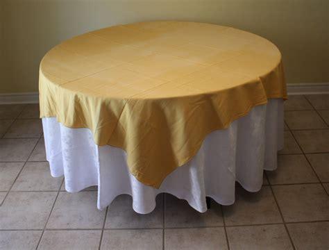 X54 Rd Mukena Algani Gold cione linens rentals