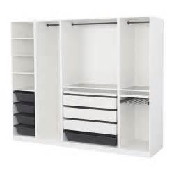 offener schrank ikea pax wardrobe white 250x58x201 cm ikea