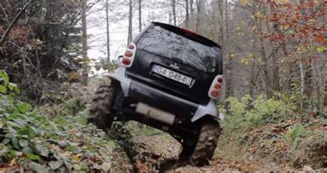 smart car road تبدیل اسمارت فورتو به یک آفرودر