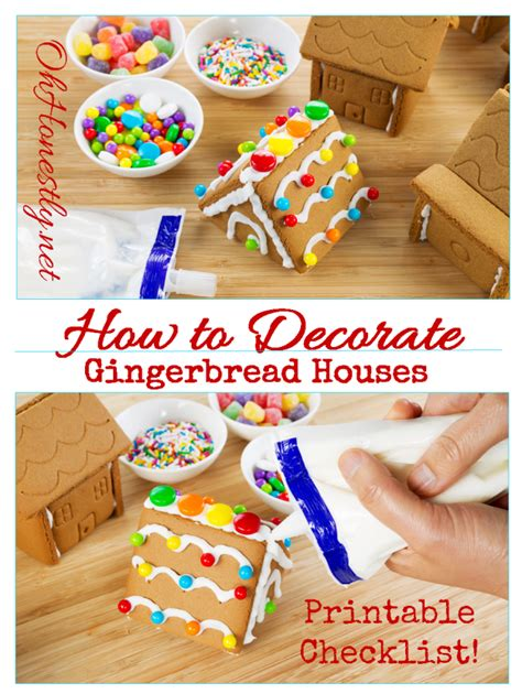 How To Decorate A Gingerbread by How To Decorate A Gingerbread House Ideas Printable