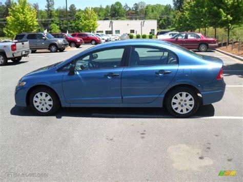 atomic blue metallic 2010 honda civic dx vp sedan exterior