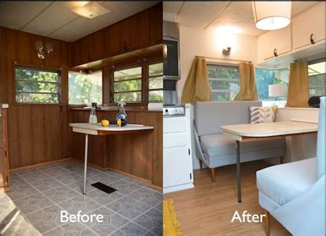 Design For a Simple Life: Renovated Vintage Campers   Burlap & DenimBurlap & Denim