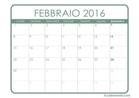 calendario febbraio 2016 da stare calendario febbraio 2016 da calendario febbraio 2016 calendari