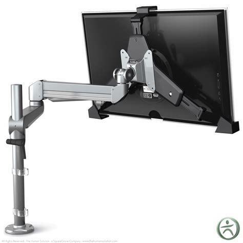 Stand Up Desk Adapter Esi Encloze Non Vesa Conversion Standing Desk Adapter