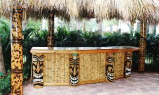 big kahuna our recent tiki hut and tiki bar builds