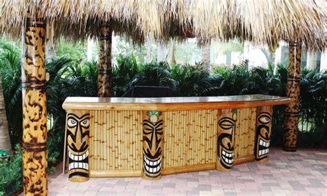 Tiki Hut Backyard Big Kahuna Blog Our Recent Tiki Hut And Tiki Bar Builds