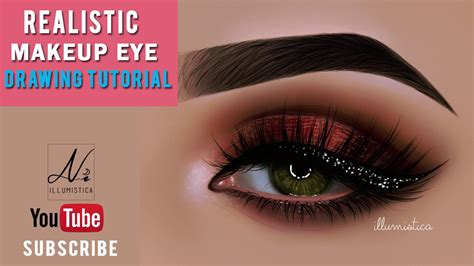 paint tool sai realistic eye tutorial realistic makeup eye drawing in paint tool sai digital