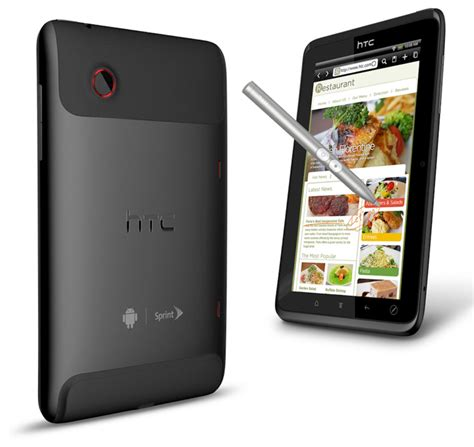 Htc Evo View 4g Android Tablet by Htc Evo View 4g Tablet Announced