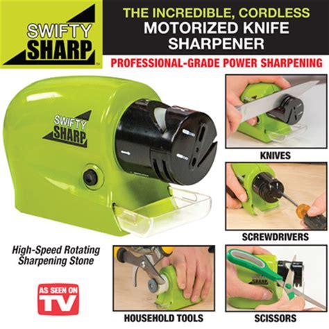 Alat Asah Pisau Gunting Berkualitas Swifty Sharp swifty sharp pengasah pisau gunting otomatis elektrik