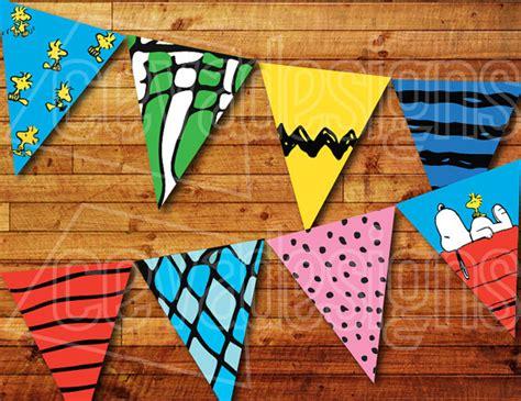 printable snoopy birthday decorations printable snoopy birthday banner charlie brown birthday
