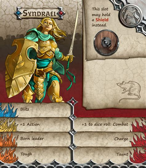 zombicide character card template zombicide black plague survivor from descent by odanan