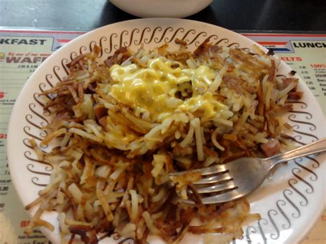 waffle house hash browns order of scattered smothered covered chunked