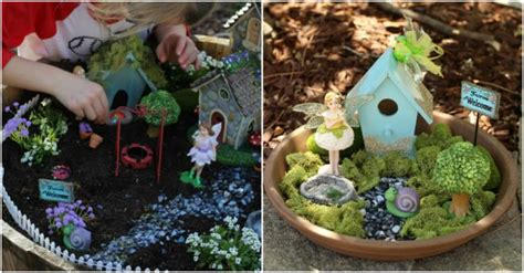 how to design my backyard how to make magical lighting fairy garden how to instructions
