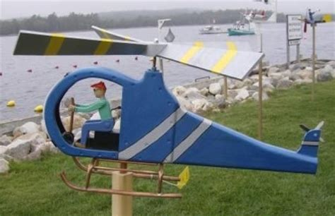 backyard airplane whirligig craft ideas adding fun yard decorations to