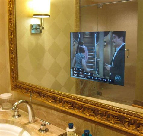bathroom mirror with built in tv what is the difference between pilkington mirroview and
