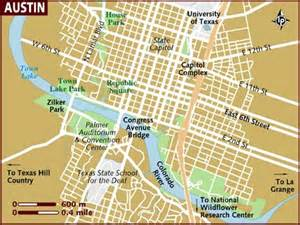 Map Of Austin by Map Of Austin
