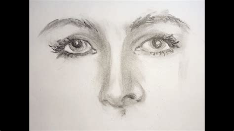 Cool Things To Draw With Charcoal by How To Draw With Charcoal Pencils Tutorial Step By