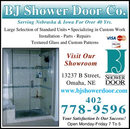 Shower Doors Omaha Bj Shower Door Company Of Omaha Omaha Ne 68144 3609 Yellowbook