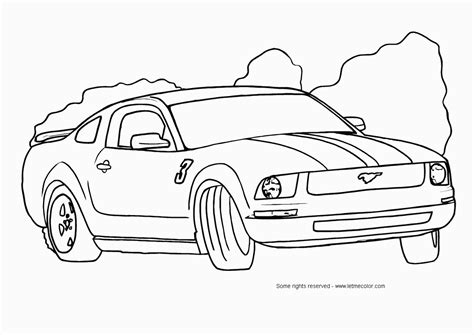 girl car coloring page ford mustang car coloring pages free printable coloring