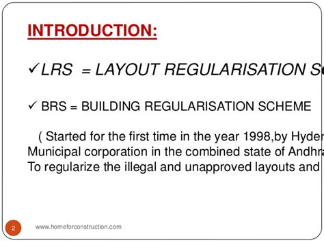layout regularisation scheme 2015 lrs brs scheme details hyderabad telangana