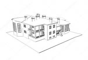 how to draw 3d house house 3d technical draw stock photo 169 sommersby 1022626