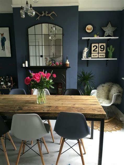 Salon Style Cagnard by Deco Bleu Gris Excellent Ordinaire Idee Deco Salon Bleu