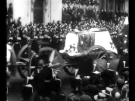 film of queen victoria s funeral funeral of queen victoria the marble arch 1901 youtube