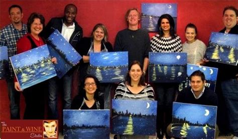 canvas painting classes near me where is a paint wine and canvas byob class near me