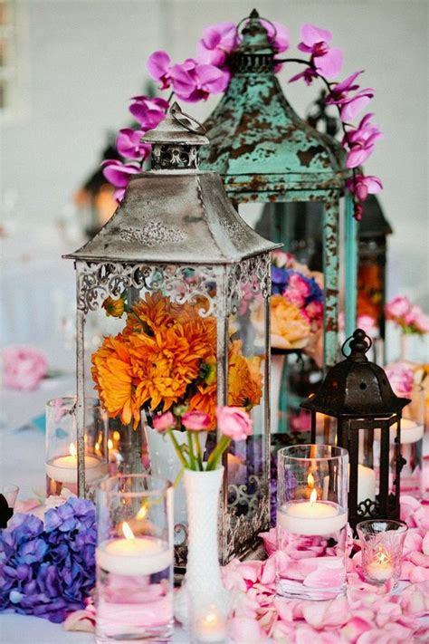 Lanterns Decorated With Flowers by 28 Of The Most Inspirational Vintage Wedding Ideas