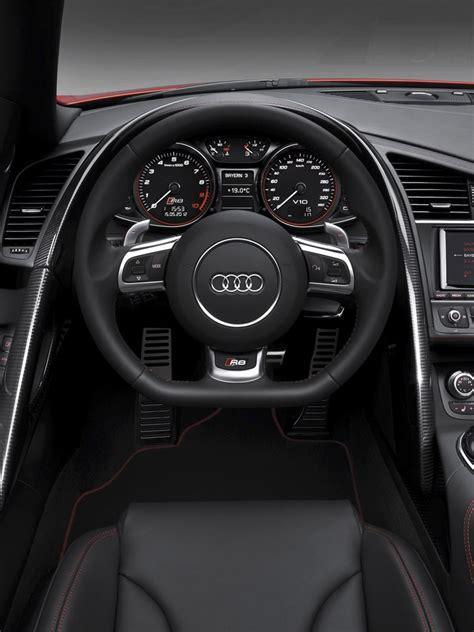 cars audi  gt spyder interior ipad iphone hd