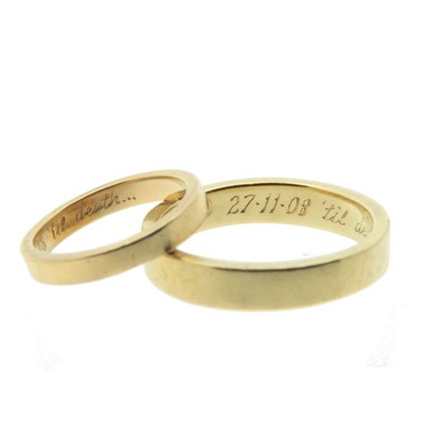quotes engraved wedding band quotesgram