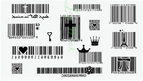 barcode tattoo transfer fake barcode reviews online shopping fake barcode