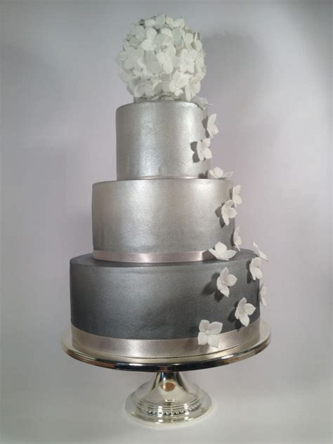Silver Wedding Cake by Silver Wedding Cake Ideas