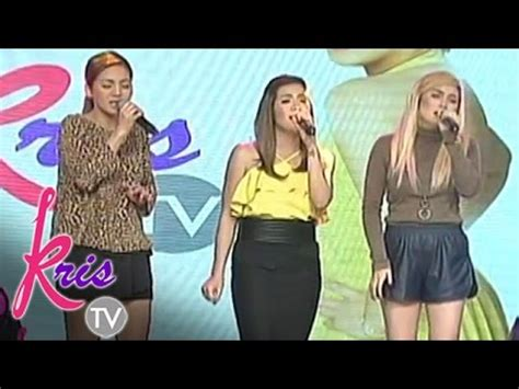 aiza kyla yeng sing don t is on asap kris tv kyla yeng angeline sing quot pagbigyang muli