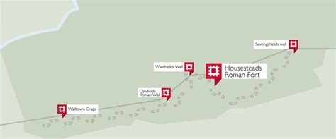 Best House Plan Sites Housesteads Roman Trail Hadrian S Wall English Heritage