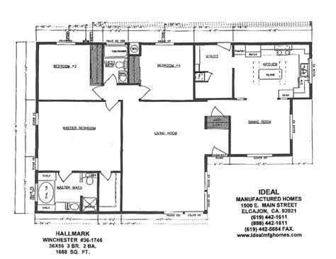 triple wide trailer floor plans avalon series floorplans triple wide homes karsten el