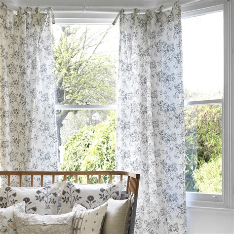 how to dress a large window how to dress a bay window ideal home
