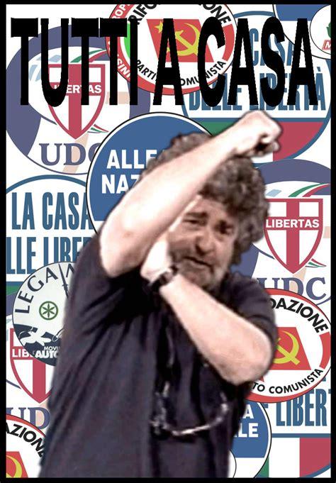 tutti a casa beppe grillo dreaming in italian
