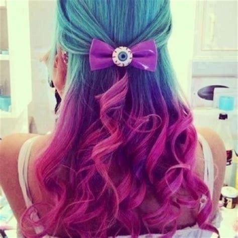 dye bottom hair tips still in style meus cabelos coloridos todos querem imitar alessandra
