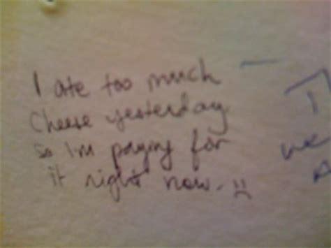 things written on bathroom walls 25 funny toilet graffiti elistmania