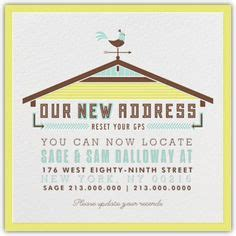 New Adventures Ahead Moving Announcement Cute Idea To Let Friends And Family Know Your New We Moved Sign Template