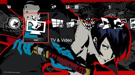 ps4 themes and avatars new persona 5 character themes and avatars released on