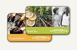 Carabas Gift Card - 17 best ideas about restaurant gift cards on pinterest chili s travel gift basket