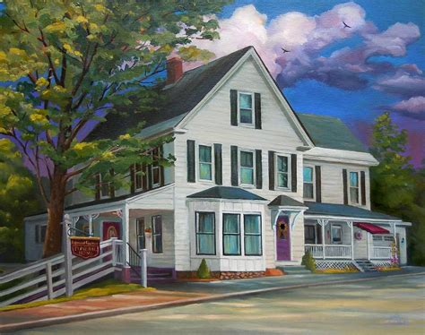 fournier funeral home painting by nancy griswold