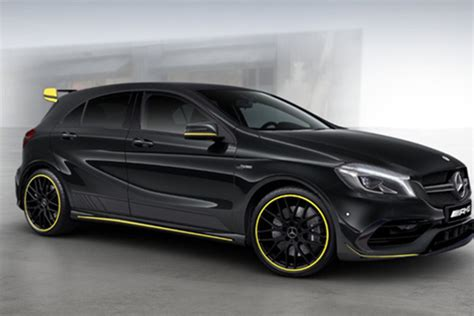 Upholstery Cheap Mercedes A45 4matic Yellow Night Edition