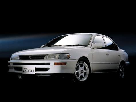 Toyota Ae101 Specs Toyota Corolla Trd2000 Ae101 1994